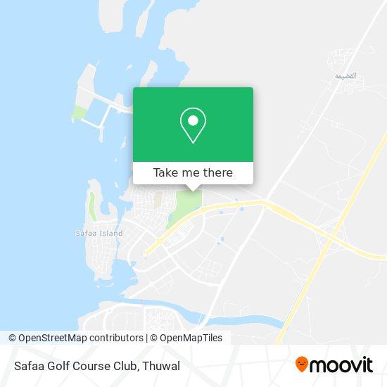 Safaa Golf Course Club map