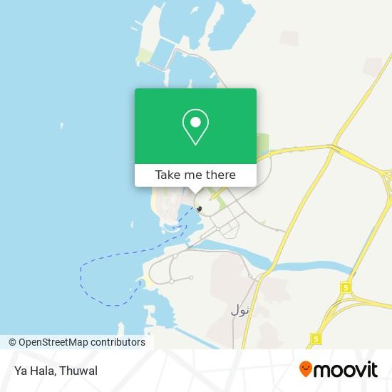 Ya Hala map