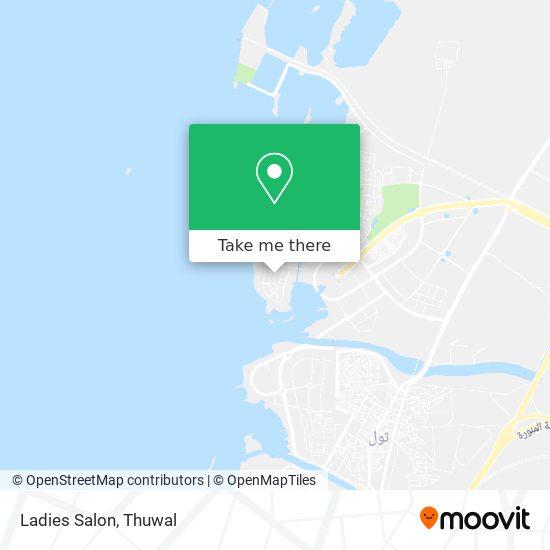 Ladies Salon map