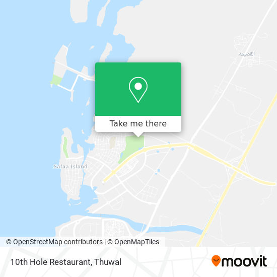 10th Hole Restaurant map