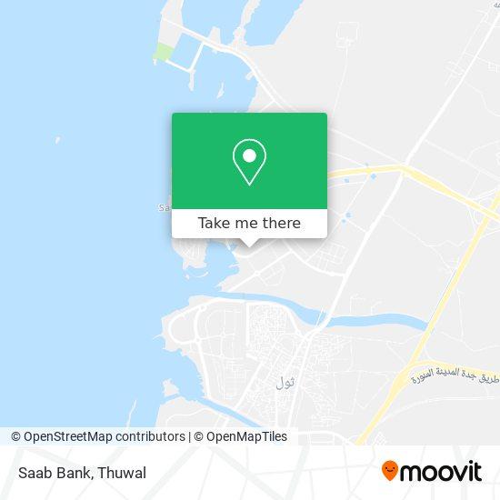 Saab Bank map