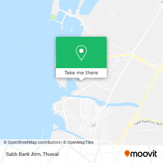 Sabb Bank Atm map
