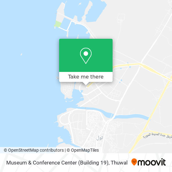 Museum & Conference Center (Building 19) map