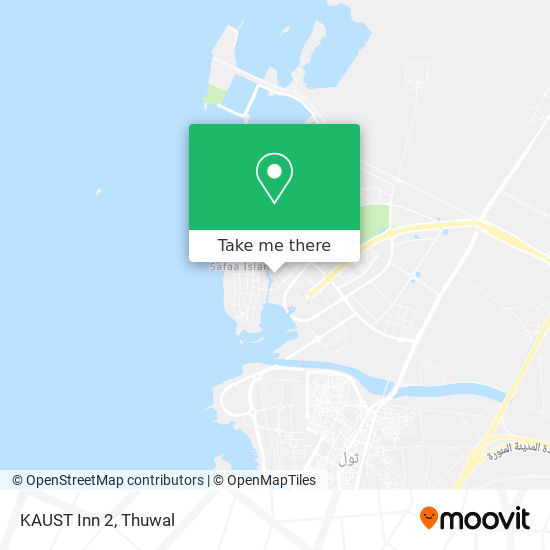 KAUST Inn 2 map