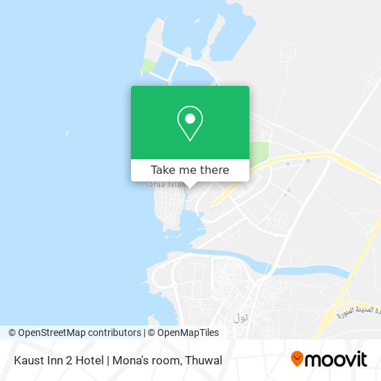 Kaust Inn 2 Hotel   Mona's room map