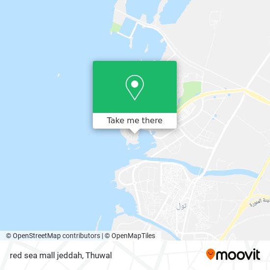 red sea mall jeddah map