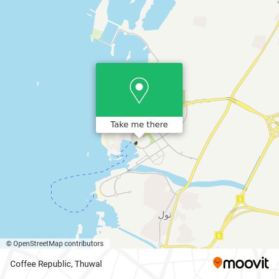 Coffee Republic map
