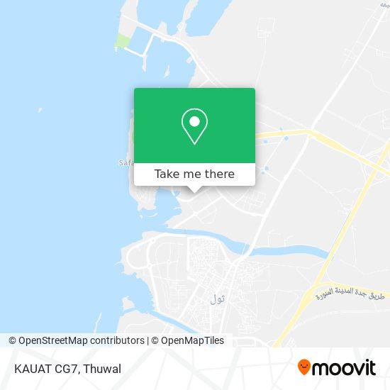 KAUAT CG7 map