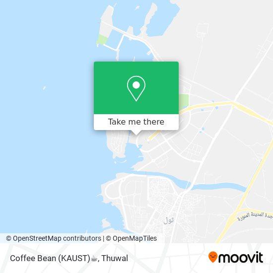 Coffee Bean (KAUST)☕️ map