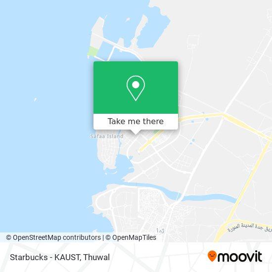Starbucks - KAUST map