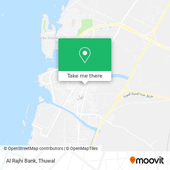 Al Rajhi Bank map