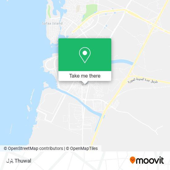 ثول map