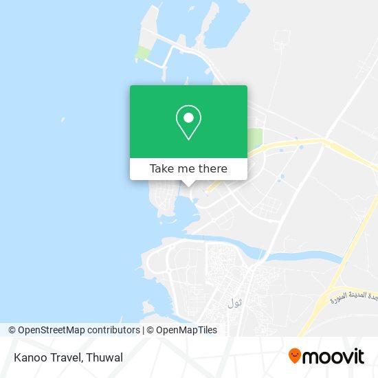 Kanoo Travel map