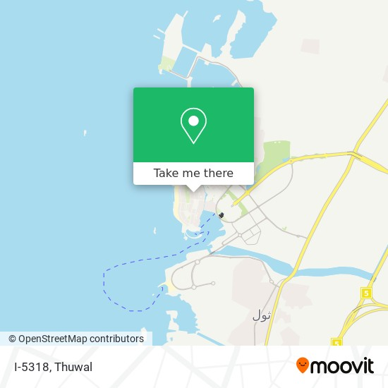 I-5318 map