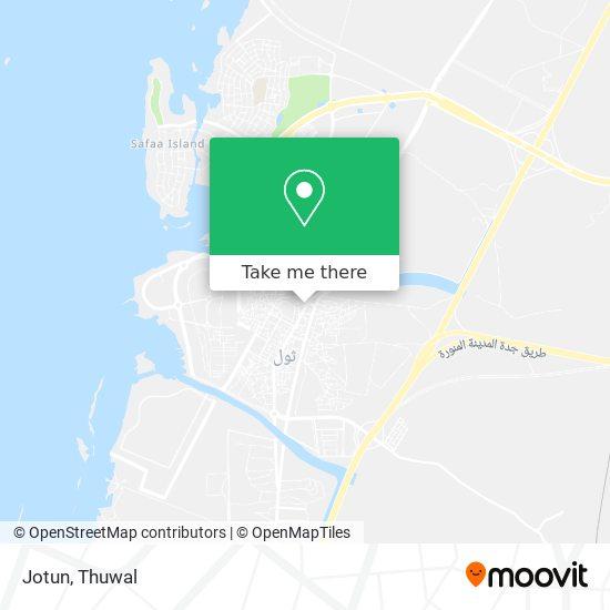 Jotun map