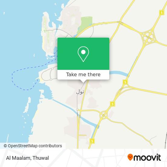 Al Maalam map