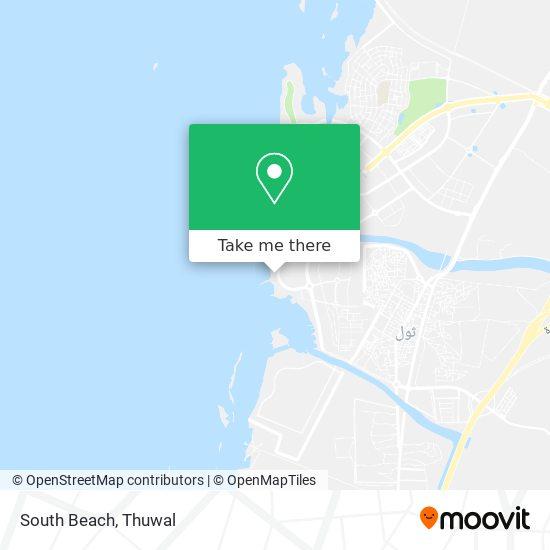 South Beach map