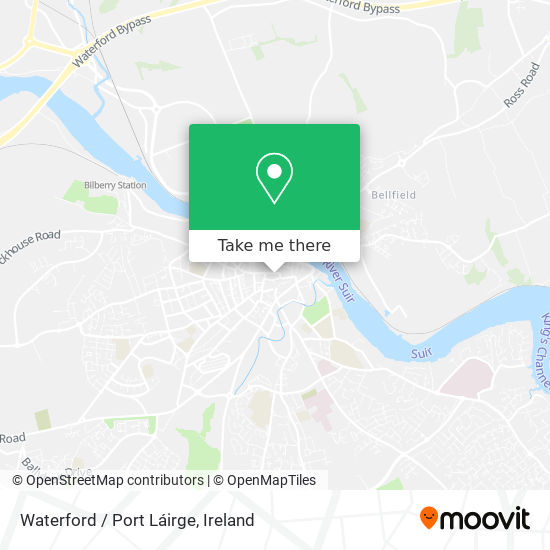 Waterford / Port Láirge map