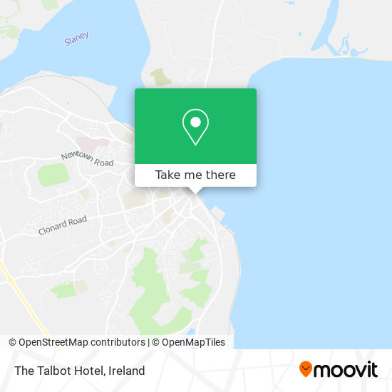 The Talbot Hotel map