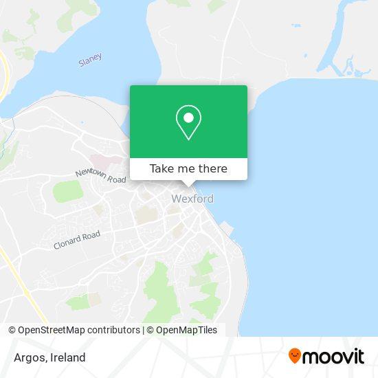 Argos map