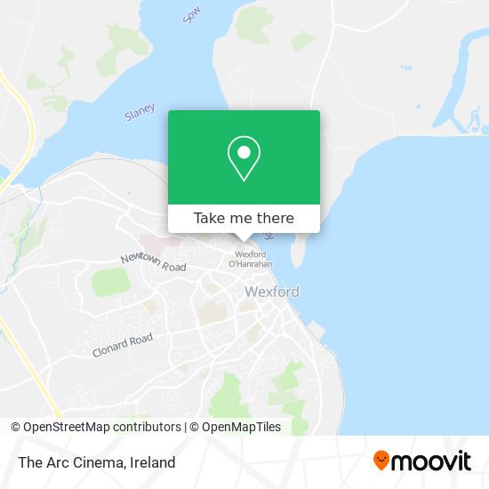 The Arc Cinema map