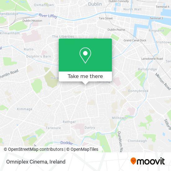 Mapa Omniplex Cinema