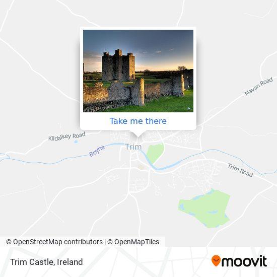 Mapa Trim Castle