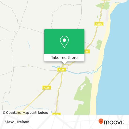 Mapa Maxol