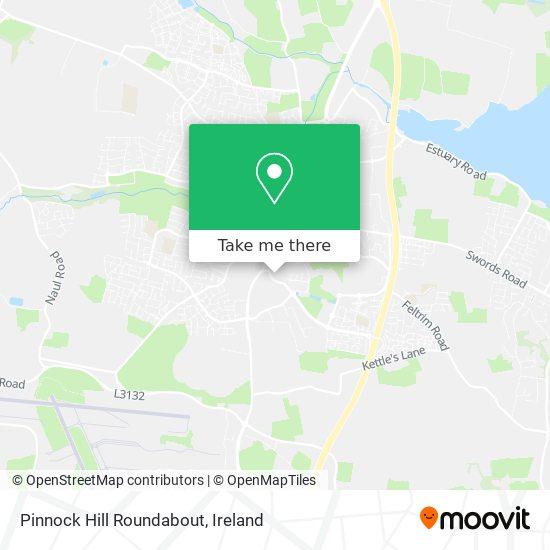 Pinnock Hill Roundabout map