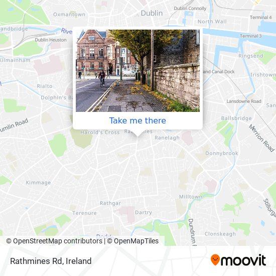 Rathmines Rd map