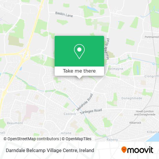Darndale Belcamp Village Centre map