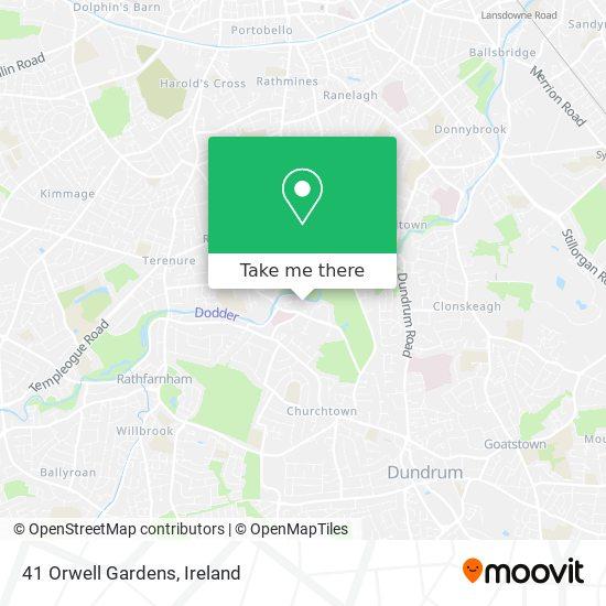 41 Orwell Gardens map