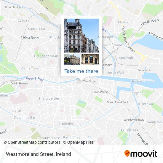 Westmoreland Street map