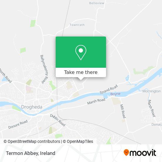 Termon Abbey plan