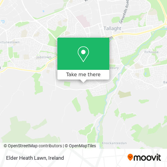 Elder Heath Lawn map
