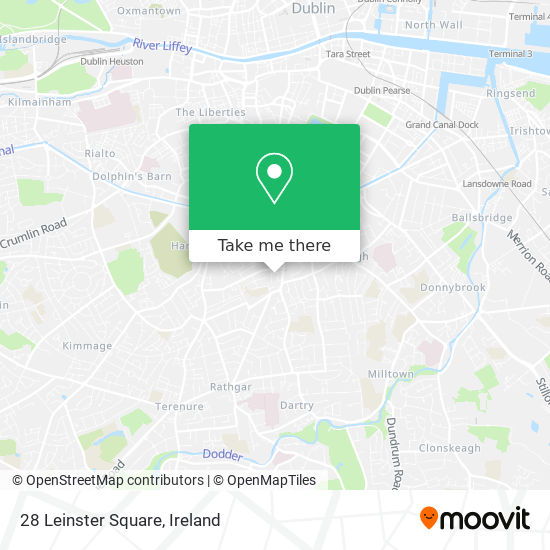 28 Leinster Square map