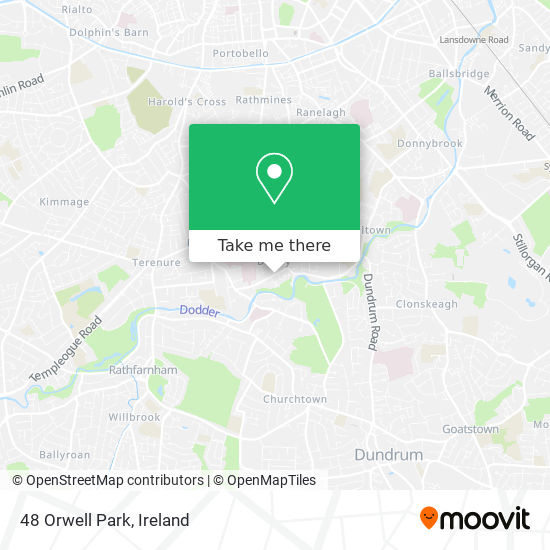 48 Orwell Park map