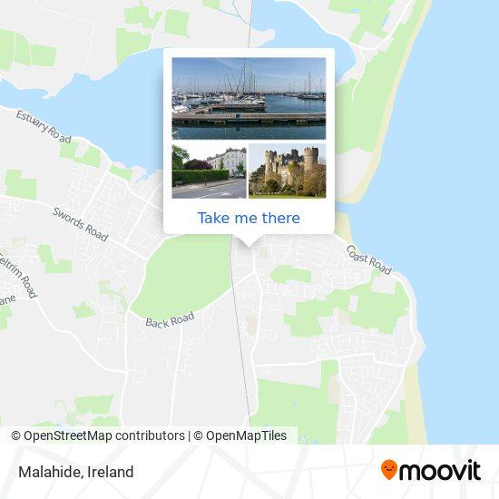 Malahide map