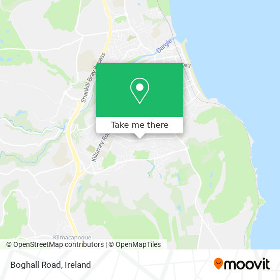 Boghall Road map