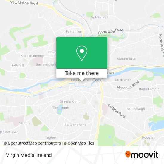 Virgin Media map