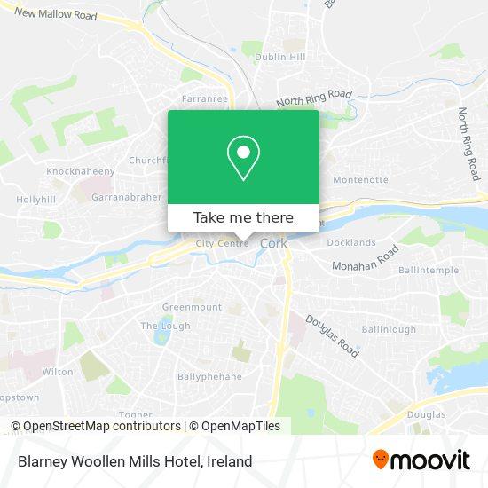 Blarney Woollen Mills Hotel map
