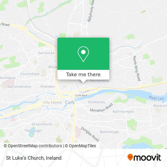 St Luke's Church map