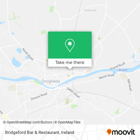 Bridgeford Bar & Restaurant plan