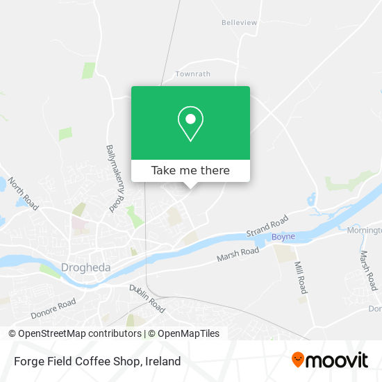 Forge Field Coffee Shop plan