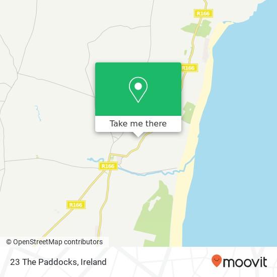 Mapa 23 The Paddocks