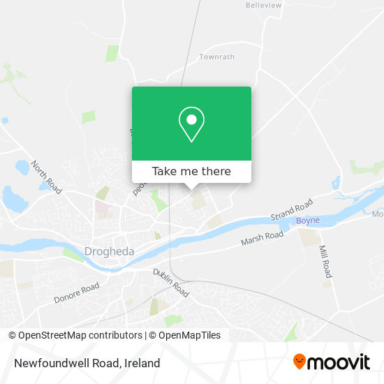 Newfoundwell Road plan