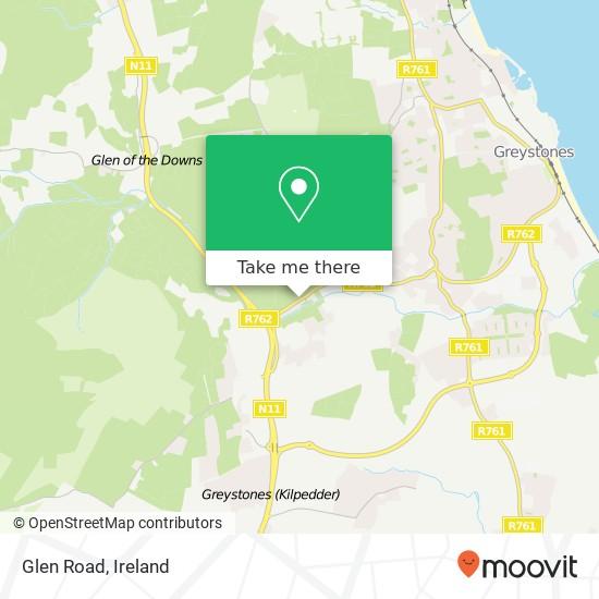 Mappa Glen Road