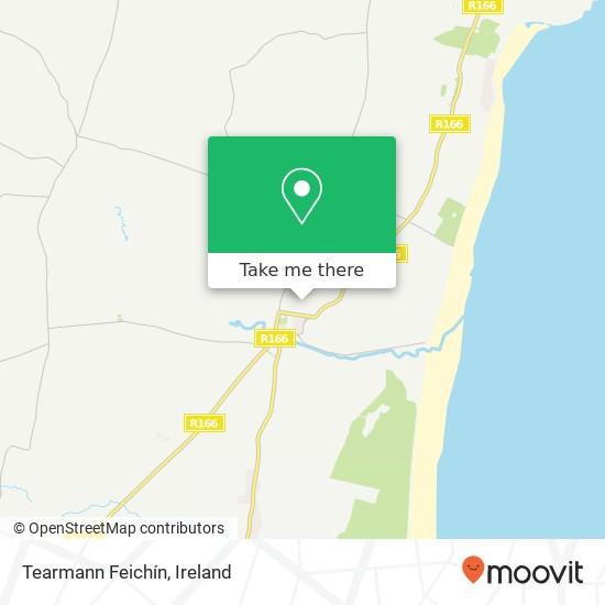 Mapa Tearmann Feichín