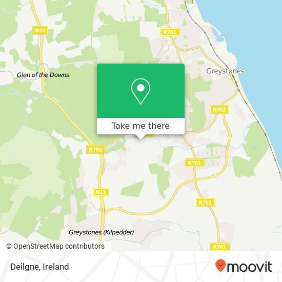 Mappa Deilgne