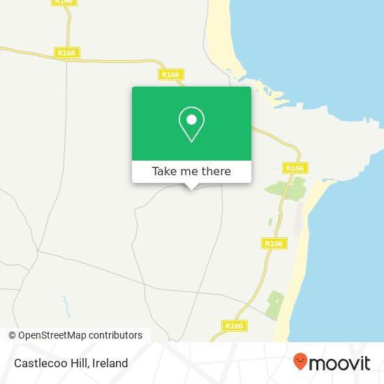 Mapa Castlecoo Hill